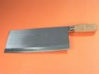 木柄文武刀(鋼) Iron bone/Vege Knife