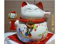万宝槌大号招财猫摆件 Lucky Cat