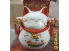 """12""""双铃铛大号招财猫摆件Lucky Cat"""