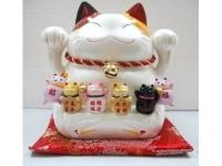萬歲貓(白) Lucky Cat
