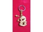 立體鑰匙扣八字龍 Key Chain