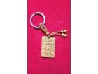 單面鑰匙扣平安牌 Key Chain