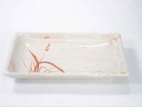 秋草方型碟 Rectangle Plate