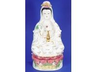 扶瓶觀音(金玉彩) Buddha(guanyin)