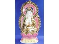 "20"" 雙佛光金萬珠觀音 Buddha(guanyin)"