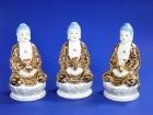 """8"""" 金身萬珠三寶佛 Lucky Buddha"""