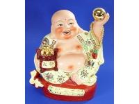 黃釉托珠坐佛 Lucky Buddha