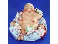 色土五仔佛 Lucky Buddha
