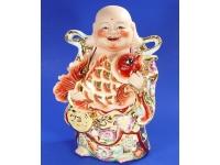 放生佛(金花彩) Lucky Buddha
