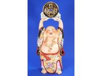 """16"""" 日彩托錢佛 Lucky Buddha"""