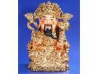 """14.5""""坐財神(鍍金) The God of Wealth"""