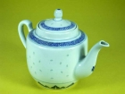 四合壺(米通) Tea Pot Tall