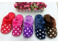 波點棉拖鞋 Cotton Slippers