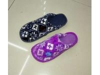 方格毛絨拖鞋 Cotton Slippers