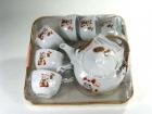 六杯日式茶具 Japanese tea set (words)