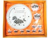 """10"""" 滿園春色(鼓形茶具) Tea Set"""