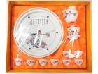 """10"""" 花香鳥語(鼓形茶具) Tea Set"""