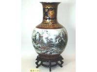 蘭邊天球(精彩) Vase
