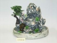 山間清泉(水晶球)(仿假山流水) Water fountain