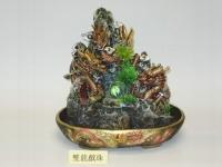 大#雙龍戲珠(仿假山流水) Water fountain