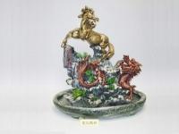 龍馬精神(仿假山流水) Water fountain