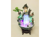 "24"" 一帆风顺(陶瓷假山) Ceramic Fountain"