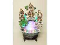 "28"" 三星大假山(陶瓷假山) Ceramic Fountain"