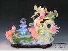 "26"" 龍鯉蓮花 Ceramic fountain"