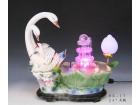 """26"""" 天鵝 Ceramic fountain"""