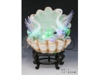 """20"""" 寶貝天鵝 Ceramic Fountain"""