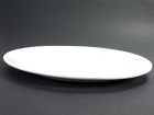 魚盤(白胎) Oval Plate