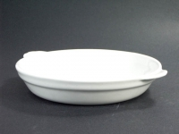 鮑魚盤(白胎) Flat Bottom Bowl