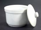 4號炖盅(白胎) Rice Pot W/Lid