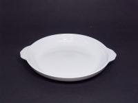 正德盤(白胎) Round Deep Plate