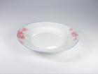 湯盤(紅荷) Soup Plate