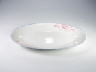 "12"" 魚盤(紅荷) Oval Plate"