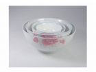 企口碗(紅荷) Rice Bowl