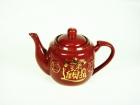 朱紅合半招財壺 Tea Pot