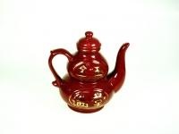 朱紅招財葫蘆壺 Tea Pot