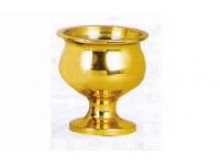 大號光身銅杯(金色)